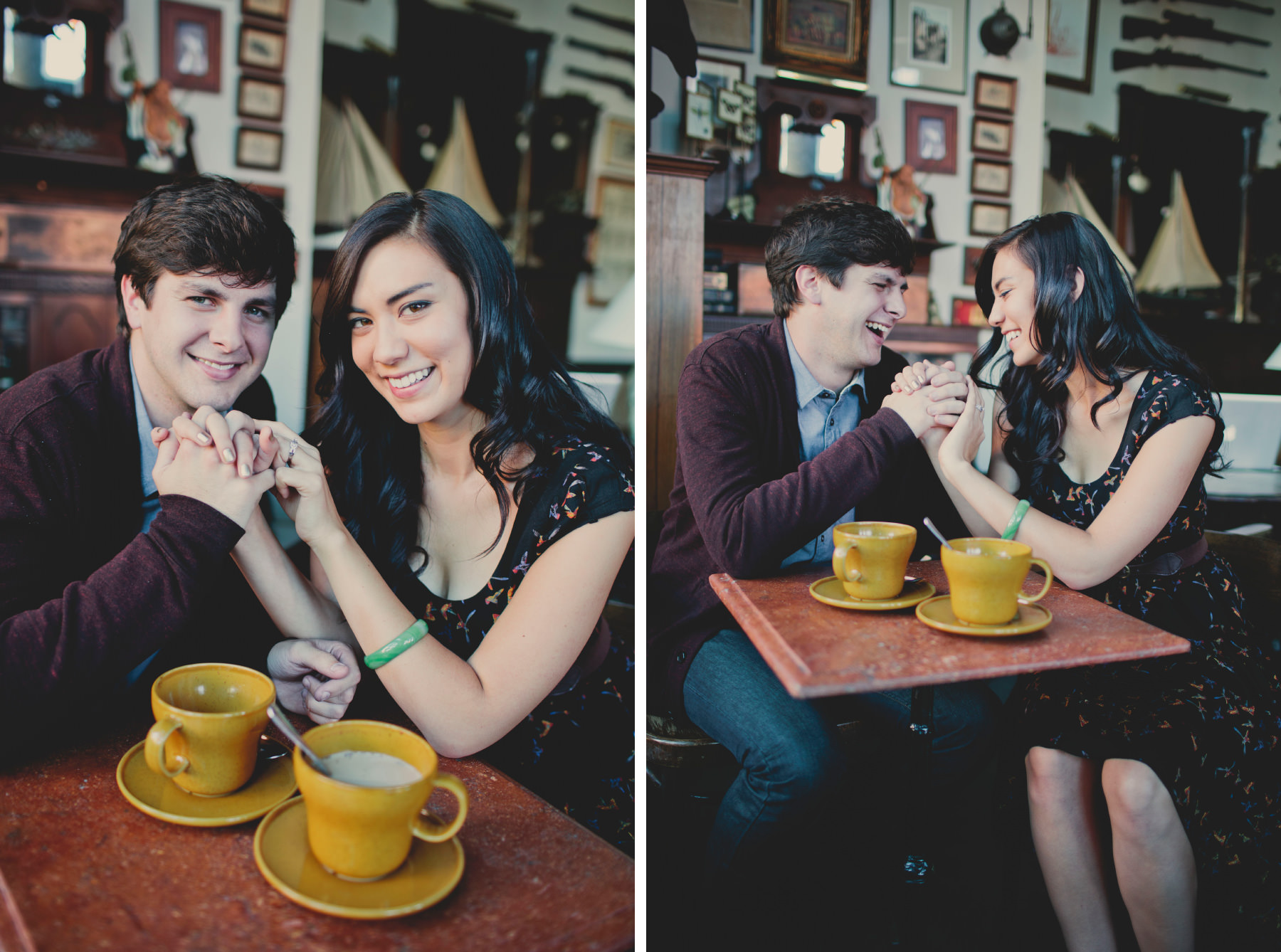 coffee shop engagement