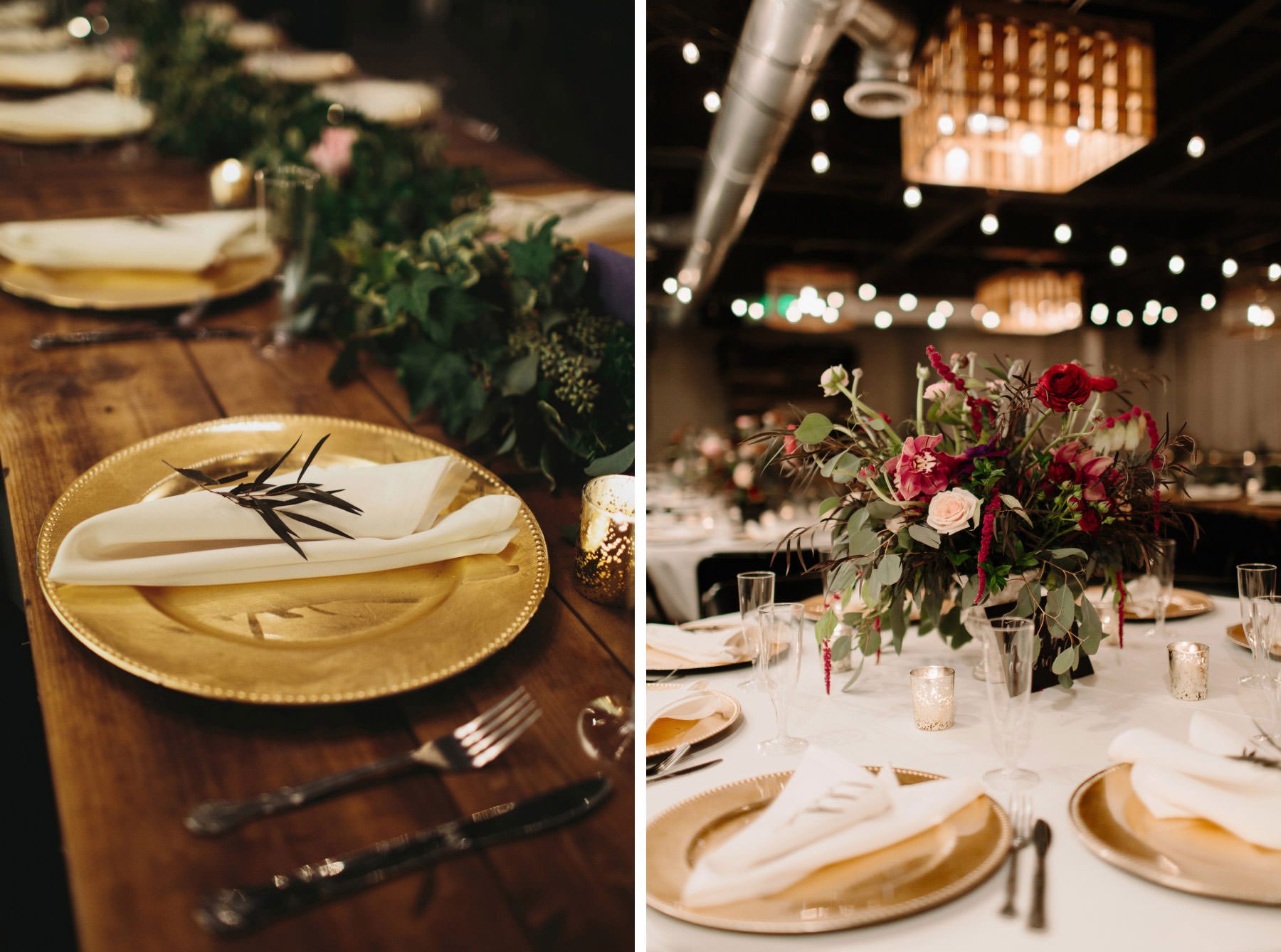 Moniker Warehouse wedding