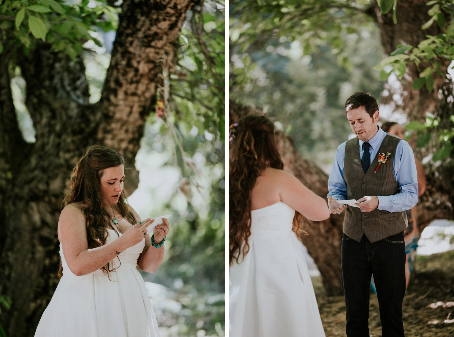 Baileys Palomar Mountain wedding