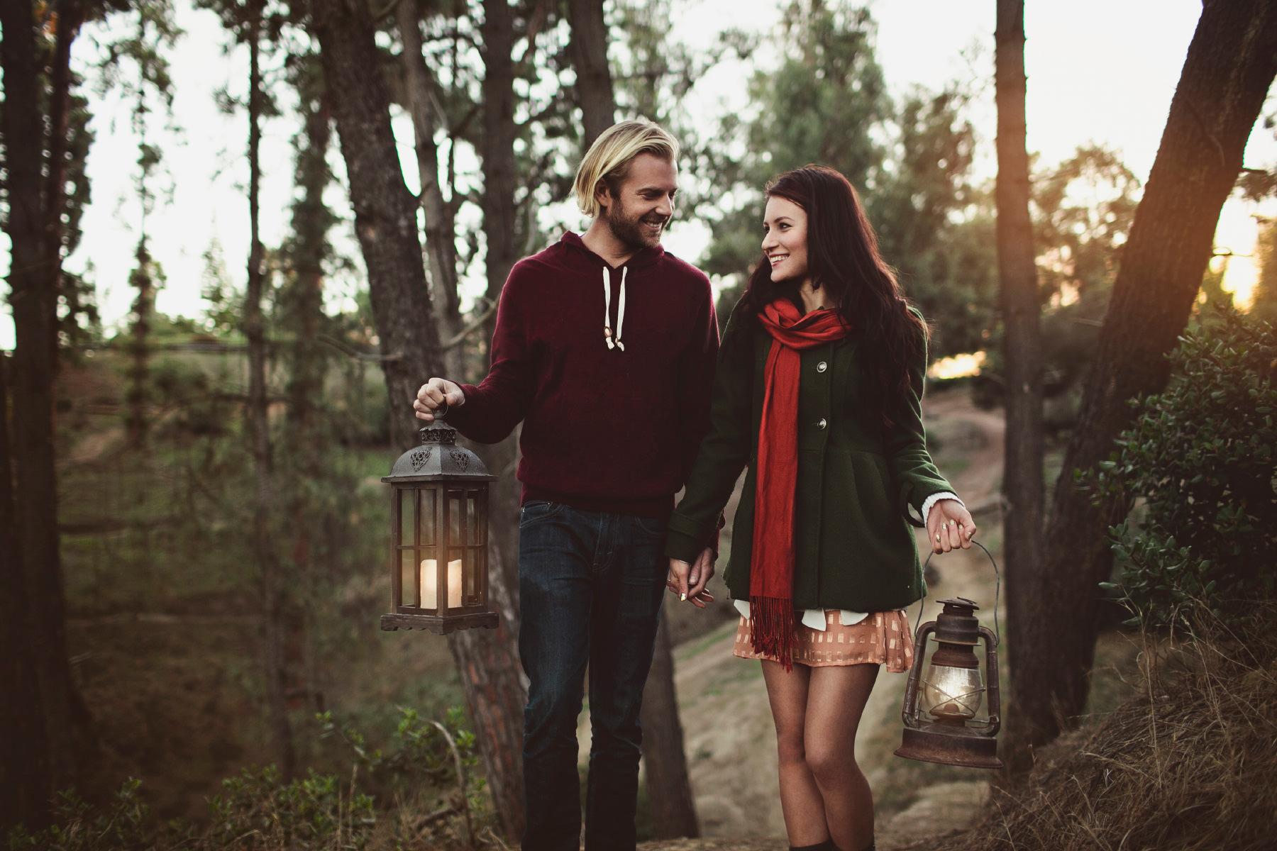 Woodsy Engagement : Conor & Elina
