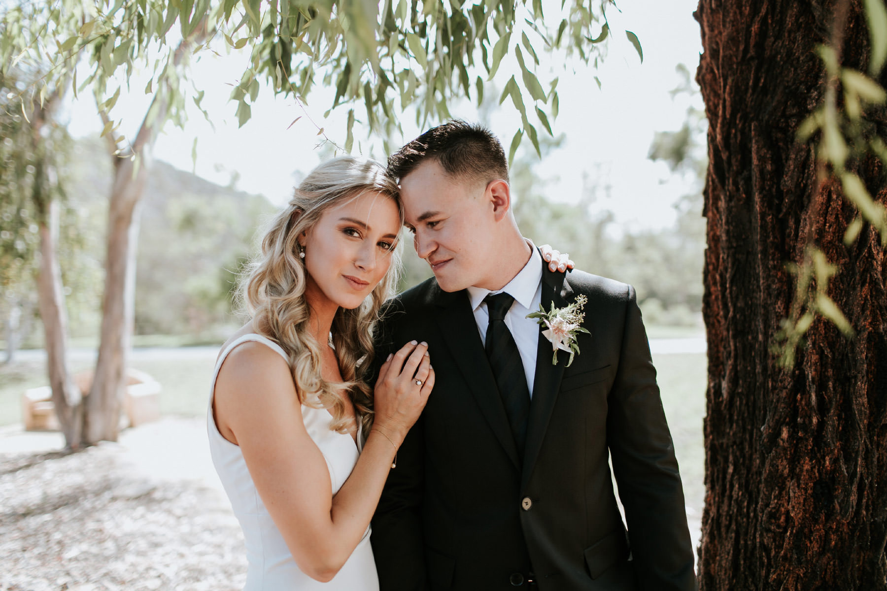 Beautiful estate wedding in Rancho Sante Fe