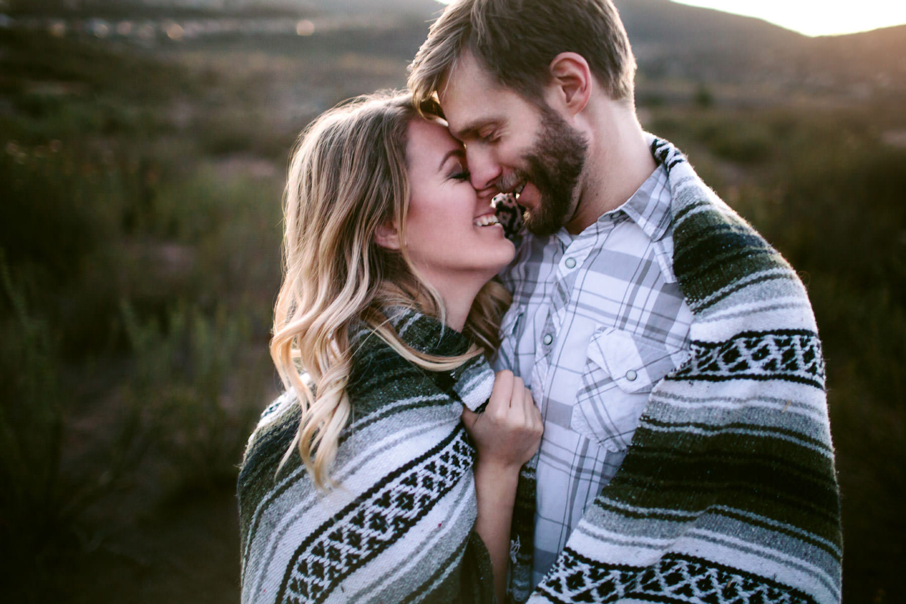 Lake Hodges Engagement : Jamin & Lindsay