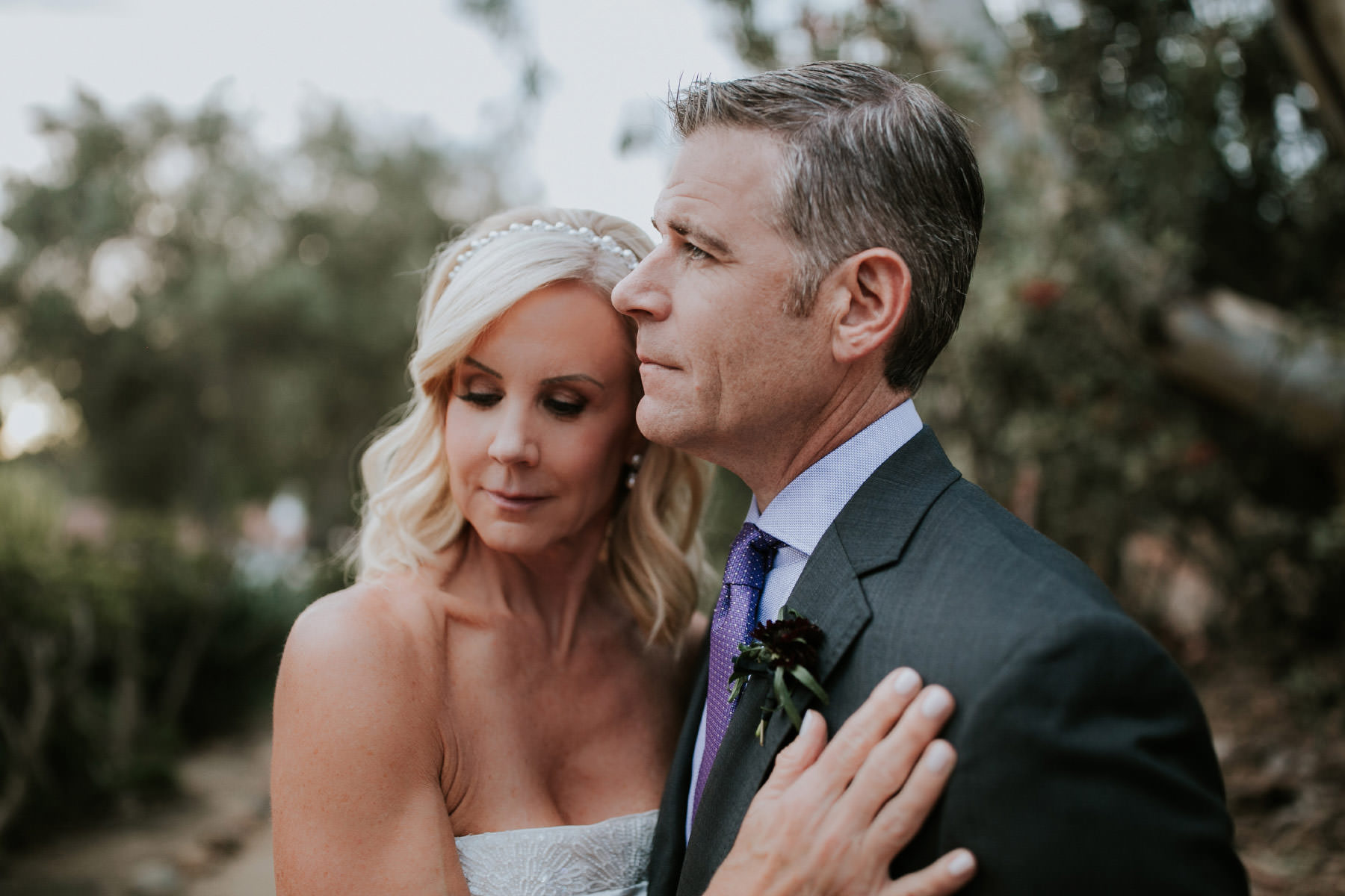 Bride and groom portraits at Leo Carrillo Ranch