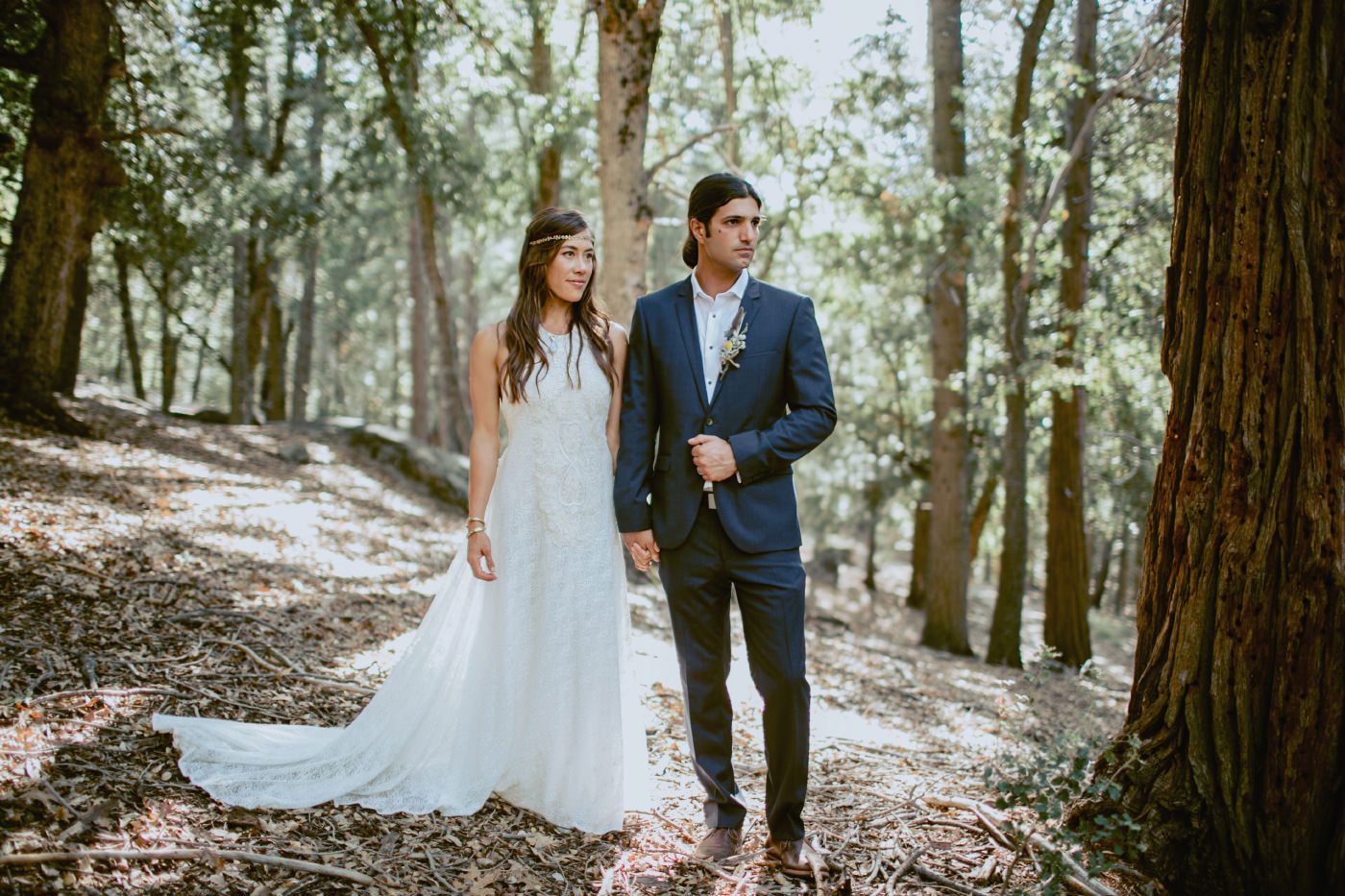 Palomar Mountain Wedding : Meg & Barak
