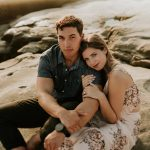 Windansea Engagement : DeAnna & DJ