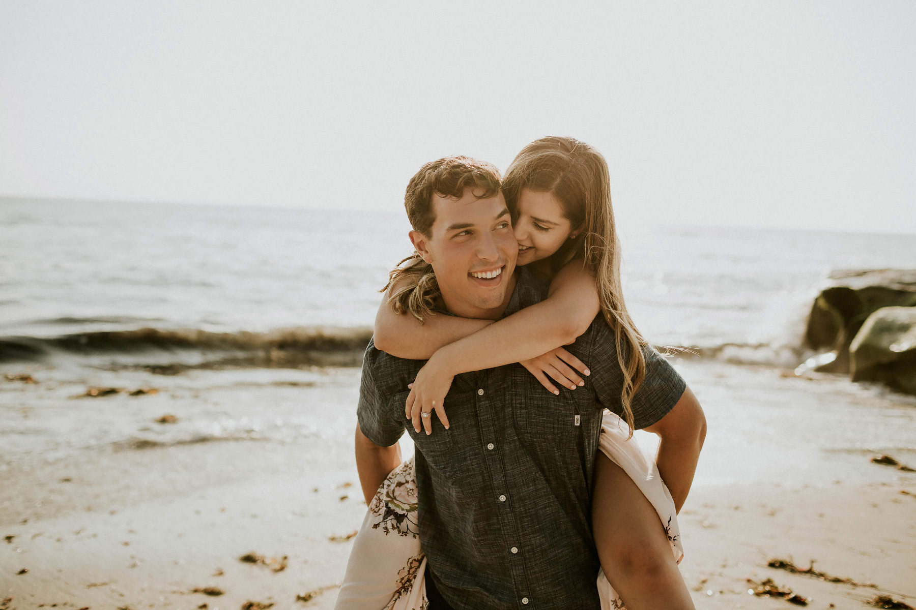 Windansea beach engagement