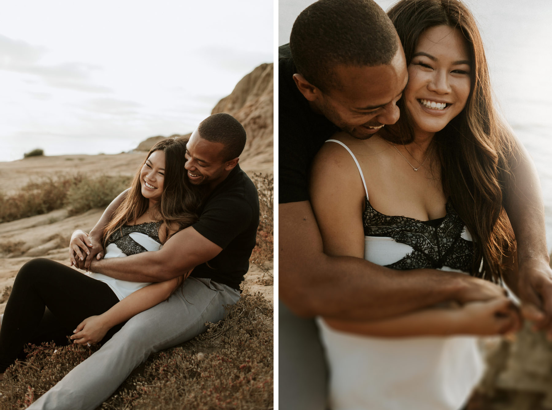 Sunset Cliffs Natural Park engagement session