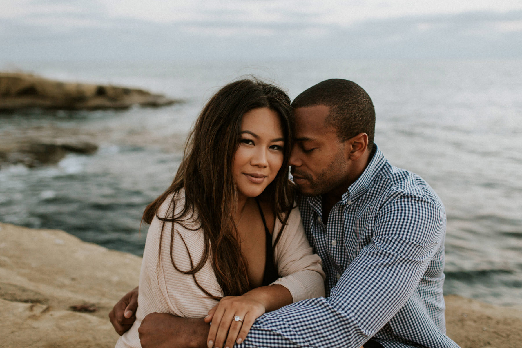 Sunset Cliffs engagement