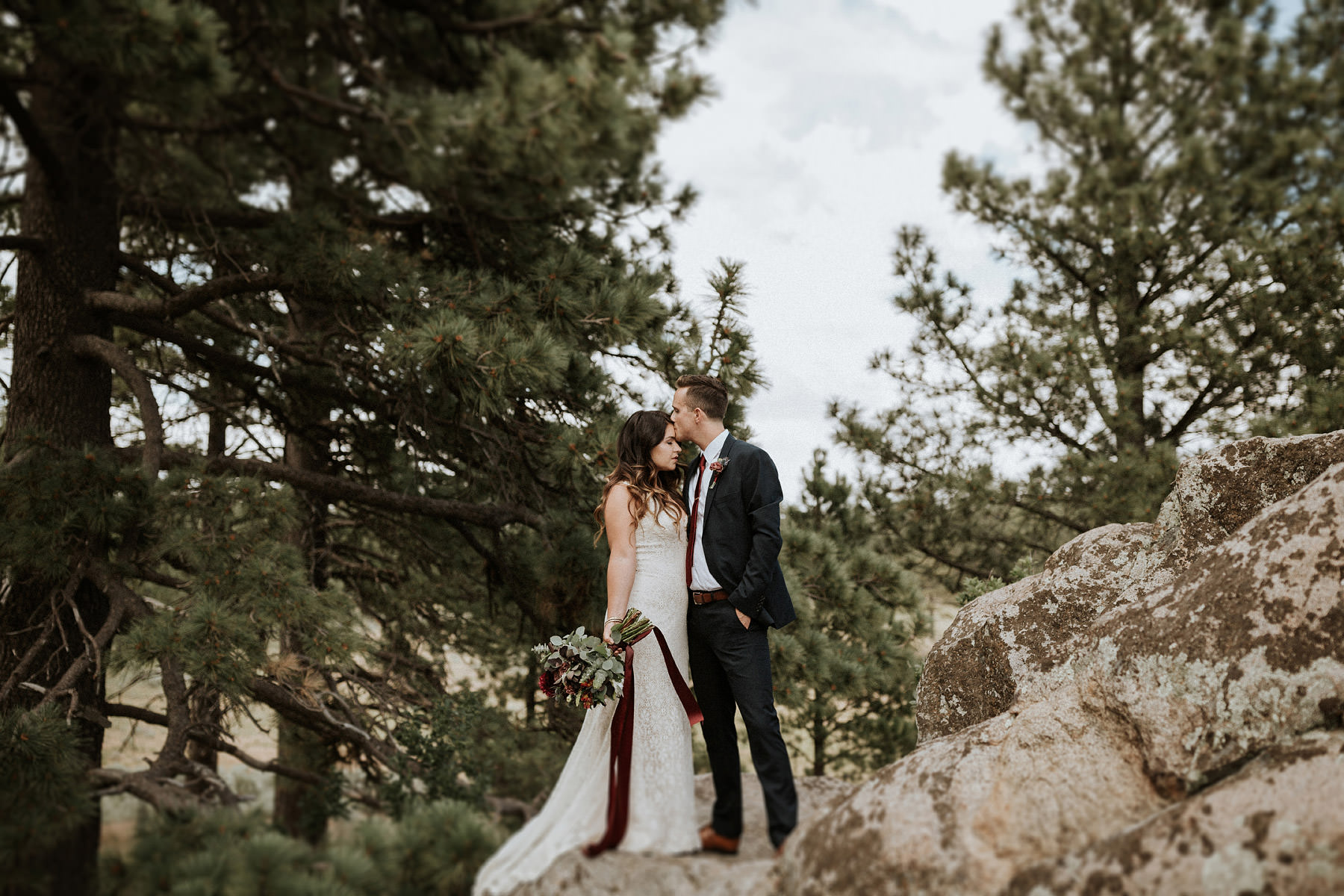 Intimate Campground Wedding : Jena & Sam