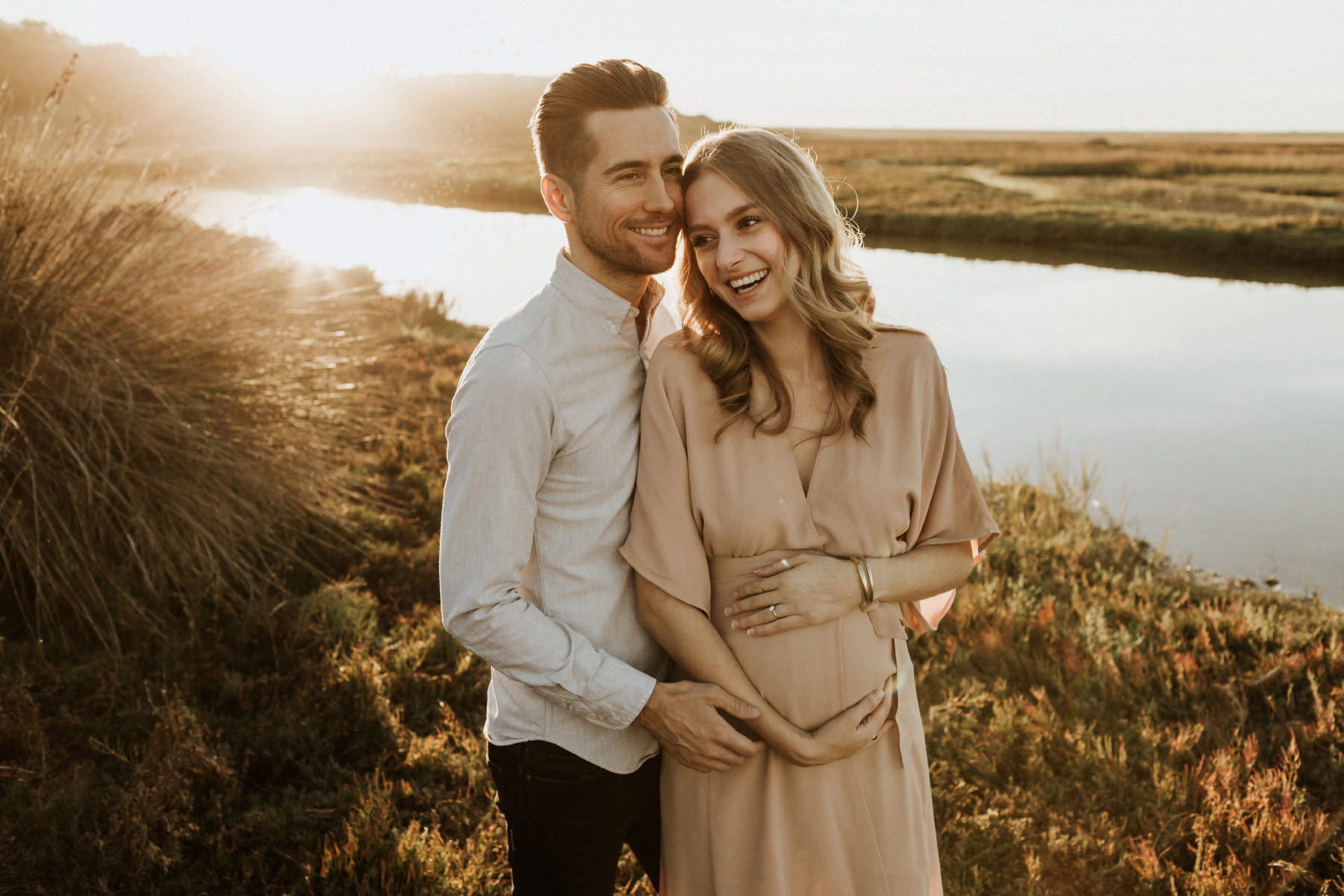Golden Lagoon Maternity : Natalie & Mark